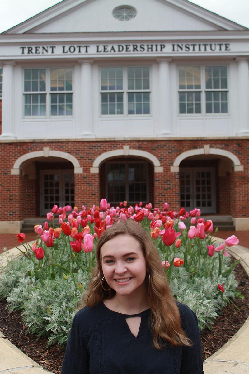 Grace Dragna, Student Ambassador for the Lott Institute